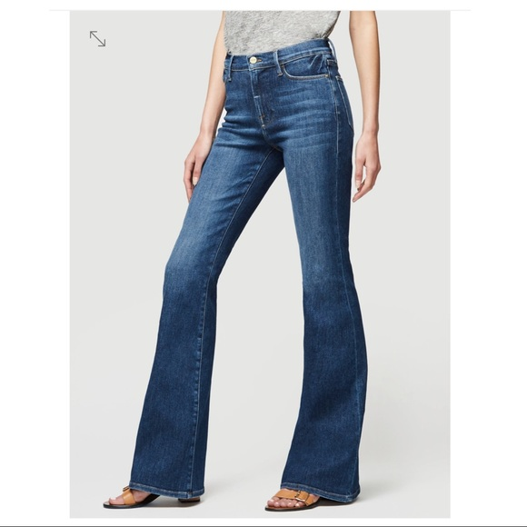 Frame Denim Denim - Frame denim high rise flare jeans